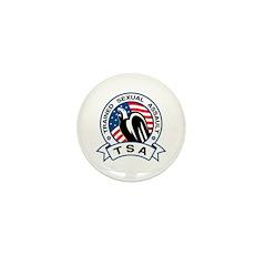 TSA Trained Sexual Assault Mini Button (10 pack)