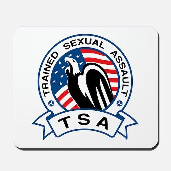 TSA Trained Sexual Assault Mousepad