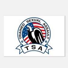 TSA Trained Sexual Assault Postcards (Package of 8