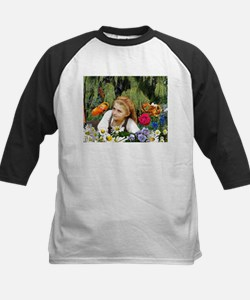 In The Garden Of Live Flowers Kids Baseball Jersey