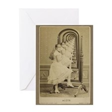 Alice (Through The Looking Gl Greeting Card