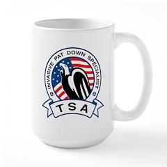 TSA Invasive Pat Down Specialist Large Mug