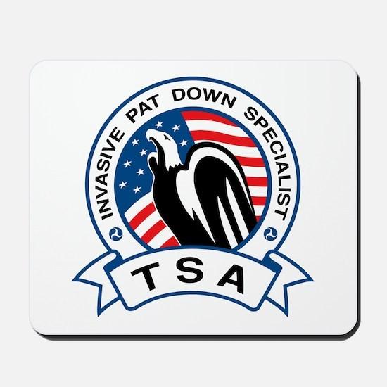 TSA Invasive Pat Down Specialist Mousepad