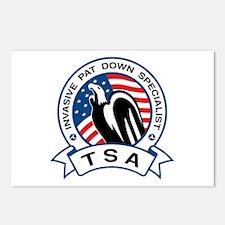 TSA Invasive Pat Down Specialist Postcards (Packag