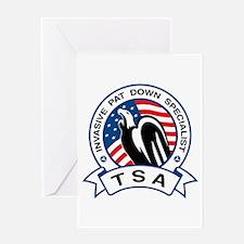 TSA Invasive Pat Down Specialist Greeting Card