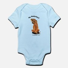 Rhodesian Ridgeback Manipulate Infant Bodysuit