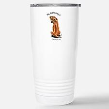 Rhodesian Ridgeback Manipulate Travel Mug