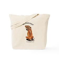 Rhodesian Ridgeback Manipulate Tote Bag