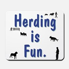 Herding Is Fun JAMD Mousepad