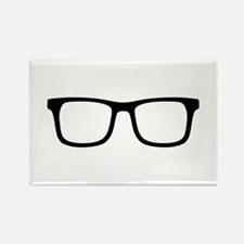Glasses Rectangle Magnet (10 pack)