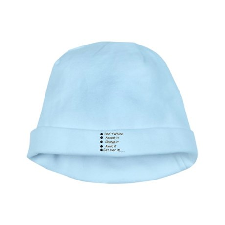 Don't Whine baby hat