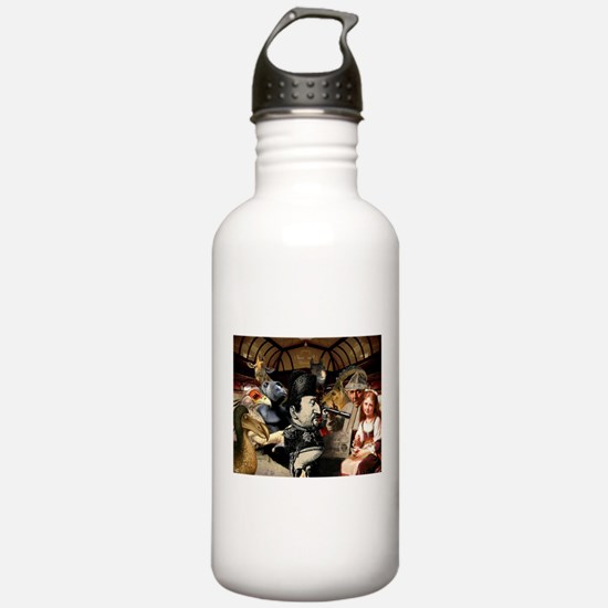 Strangeness On A Train Water Bottle