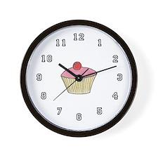 'Cupcake' Wall Clock