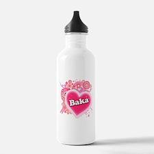 Baka Heart Art Water Bottle