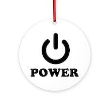 Power Ornament (Round)
