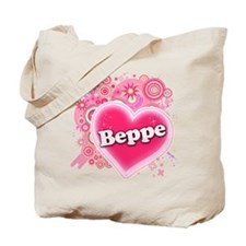 Beppe Heart Art Tote Bag
