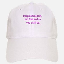 Imagine Freedom Baseball Baseball Cap