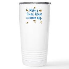 Adopt a Rescue Travel Mug