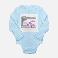 YarnTails Long Sleeve Infant Bodysuit