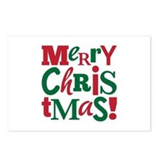 """""""Merry Christmas"""" Postcards (Package of"""