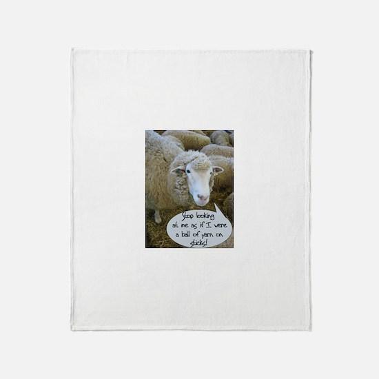 Unique Knit Throw Blanket