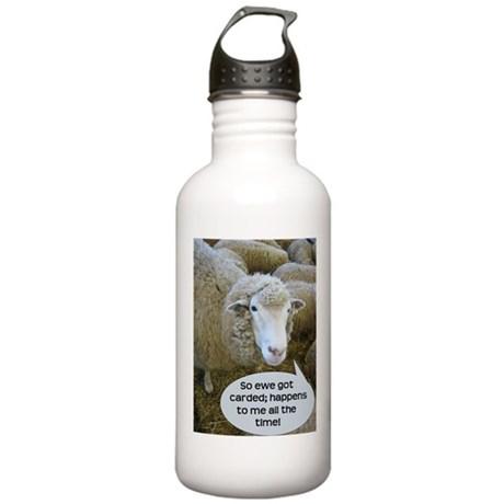Carded, eh? Stainless Water Bottle 1.0L