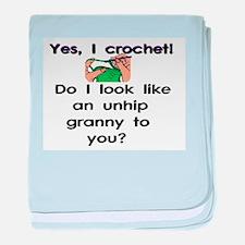Crochet is hip! baby blanket
