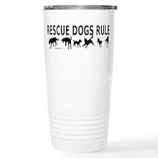 Rescue Dogs Rule Travel Mug