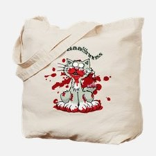Zombie Kitty Tote Bag