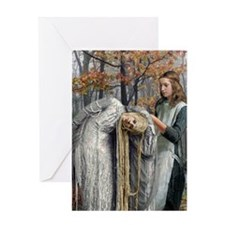 A-dressing The White Queen Greeting Card