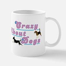 Crazy About Dogs Mug
