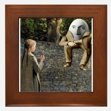 Humpty Dumpty Framed Tile