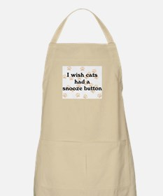 Cats Snooze Button Apron