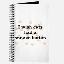Cats Snooze Button Journal