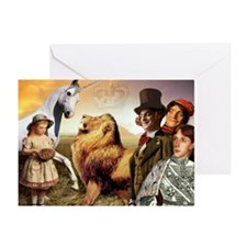 The Lion & The Unicorn Greeting Card