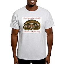 Alcazar Crocodile Ash Grey T-Shirt