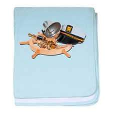 Nautical Supplies baby blanket