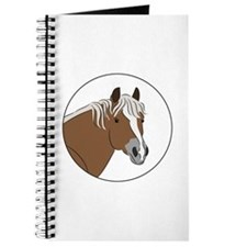 Haflinger horse Journal