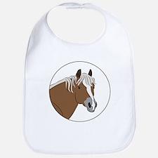 Haflinger horse Bib