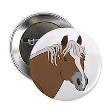 "Haflinger horse 2.25"" Button"