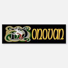 Donovan Celtic Dragon Bumper Bumper Bumper Sticker
