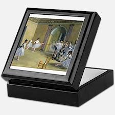 Edgar degas Keepsake Box
