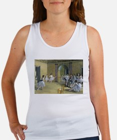 Cute Ballet dancer Women's Tank Top