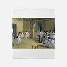 Cute Impressionist art Throw Blanket