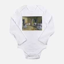 Cute Ballet dancer Long Sleeve Infant Bodysuit