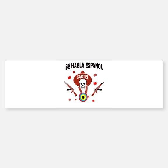 AMERICA'S ENEMY Sticker (Bumper)