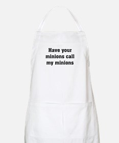 Call My Minions Apron