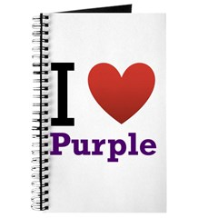 I Love Purple Journal