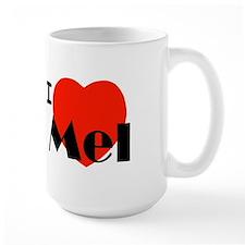 I Love Mel Mug