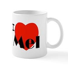 I Love Mel Small Mug